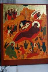 Икона Рождества Христова. Франция-Великобритания,  1970-е гг.