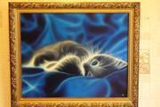 продам картину котенок